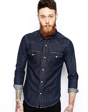 Image 1 of Lee Western Denim Shirt