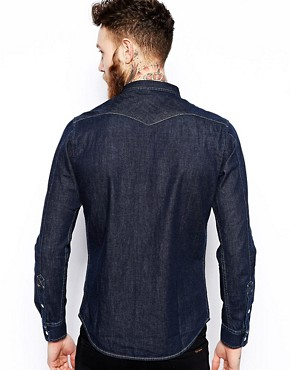 Image 2 of Lee Western Denim Shirt