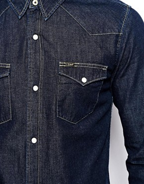 Image 3 of Lee Western Denim Shirt