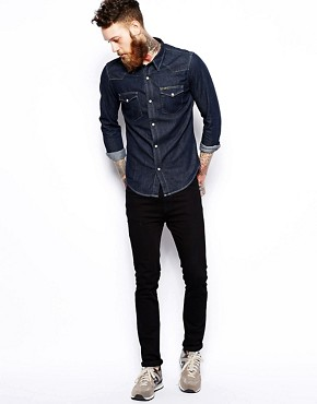 Image 4 of Lee Western Denim Shirt