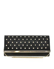New Look Studded Chelsea Clutch Bag