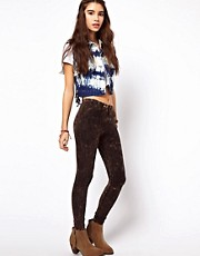 ASOS  Leggings in Acid-Waschung