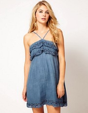Miss Sixty Gabe Chambray Denim Dress