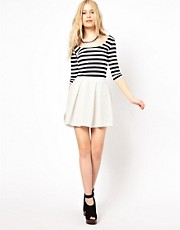 River Island Box Pleat Skirt