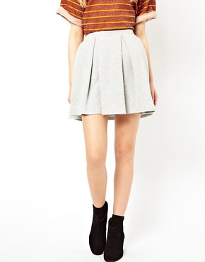 Image 4 ofRiver Island Box Pleat Skirt