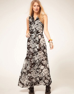 Image 4 ofMinkpink &#39;Shadow of Doubt&#39; Floral Maxi Dress