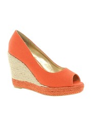 Sugarfree Zina Peep Toe Wedge