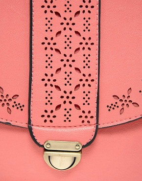 Image 4 ofLiquorish Laser Cut Shoulder Bag