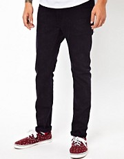 WESC Alessandro Skinny Jeans Acid Wash