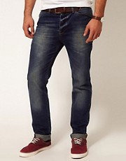 ASOS  Schmale Jeans in mittlerer Waschung