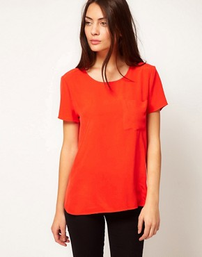 Image 1 ofWhistles Oversized Pocket Tee