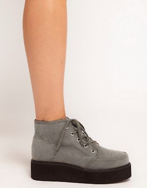 Image 3 ofASOS ALVI Flatform Ankle Boots