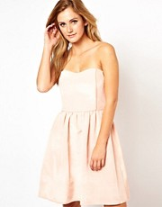 Thread Social Skater Dress with Piping Detail