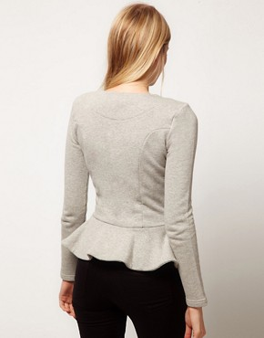 Image 2 ofASOS Peplum Frill Jacket