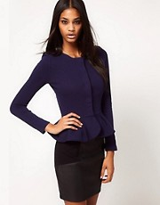 ASOS Peplum Frill Jacket