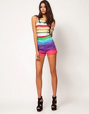 Motel Rainbow Fade Shorts