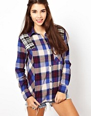 Lucca Couture Check Shirt