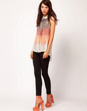 Image 4 ofWarehouse Neon Animal Blouse