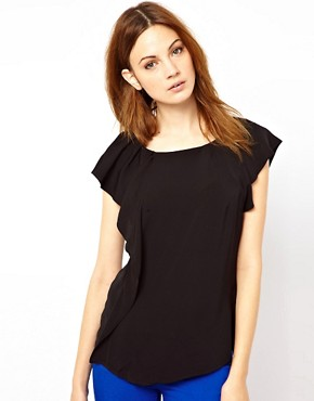 Image 1 ofWarehouse Ruffle Detail Top