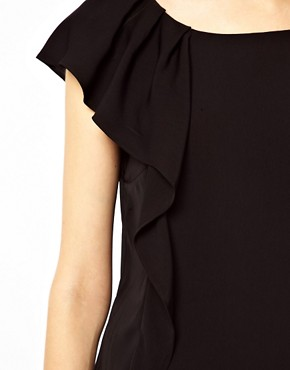 Image 3 ofWarehouse Ruffle Detail Top