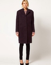 ASOS Longlength Ovoid Coat