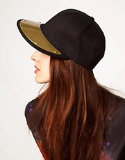 ASOS Metal Plate Peak Cap