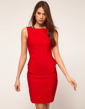 Image 1 ofHybrid Sleeveless Peplum Dress