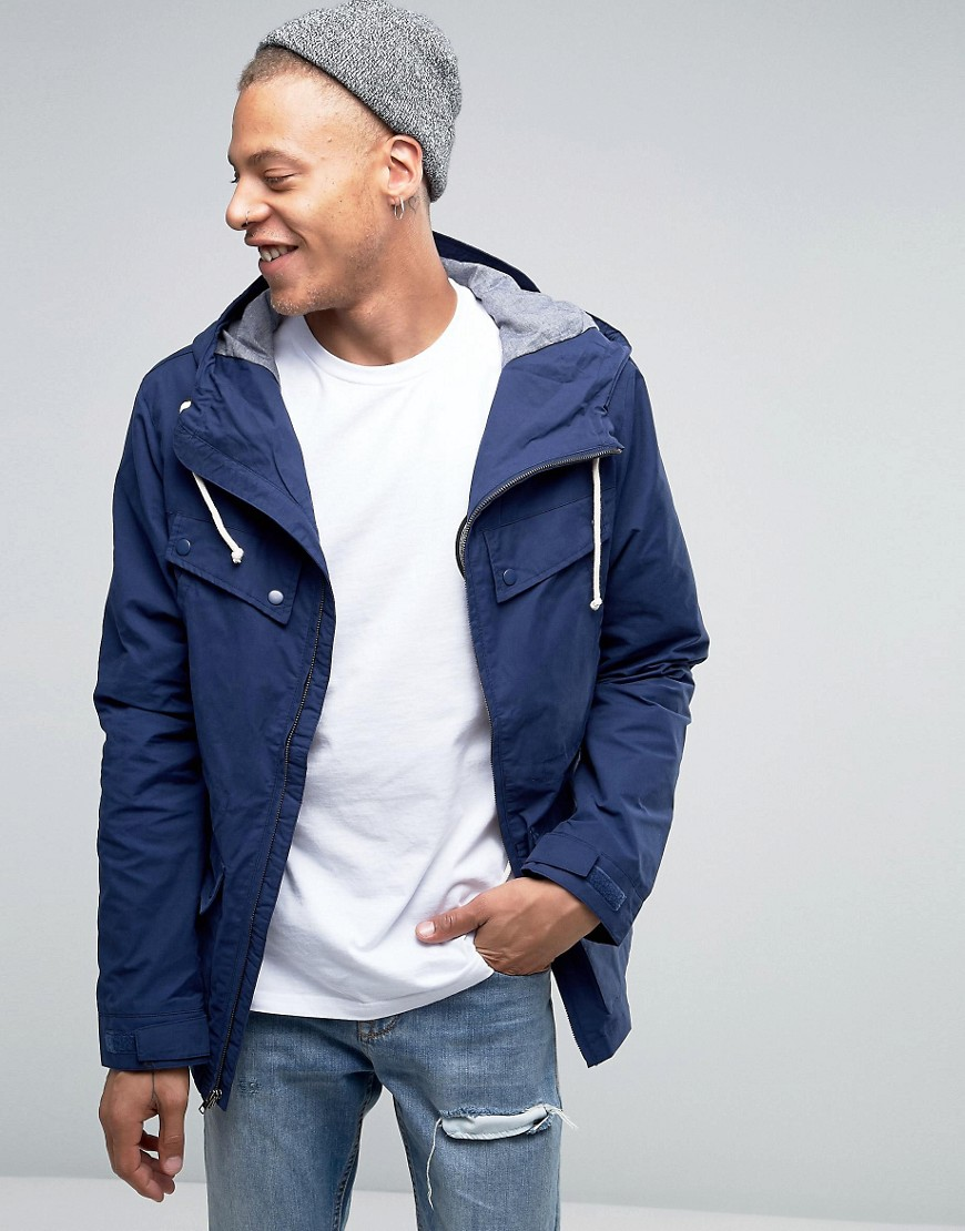 Quiksilver Seashore Jacket - Blue