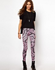 Your Eye&#39;s Lie Digital Body Print Leggings