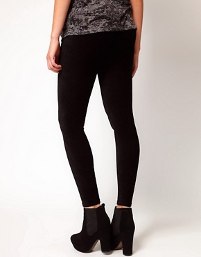 Image 2 ofASOS Maternity Legging In Soft Cord