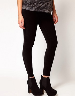 Image 4 ofASOS Maternity Legging In Soft Cord