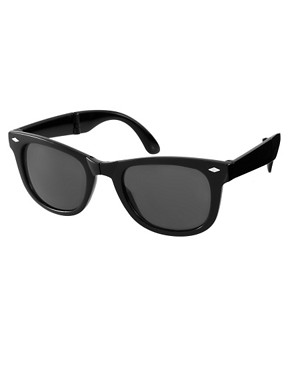 Image 1 ofASOS Folding Wayfarer Sunglasses