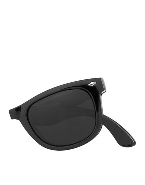 Image 4 ofASOS Folding Wayfarer Sunglasses