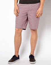 Ben Sherman Shorts in Gingham Print