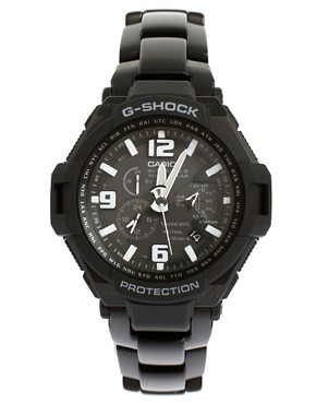 Image 1 ofCasio G-Shock GW-4000D-1AER Quartz Black Stainless Steel Watch