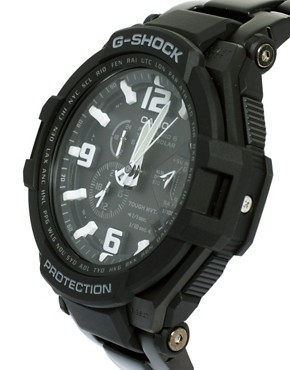 Image 4 ofCasio G-Shock GW-4000D-1AER Quartz Black Stainless Steel Watch