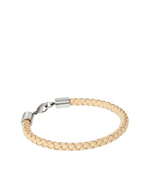 Image 1 ofSimon Carter Leather Braided Bracelet