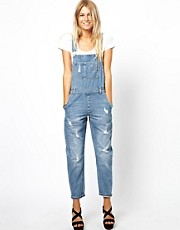 ASOS Vintage Wash Dungarees