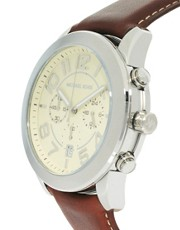 Michael Kors Mercer Watch Leather Strap MK8292