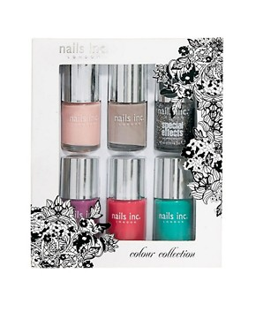 Image 3 ofNails Inc 6 Piece Colour Collection SAVE 47% - FULL SIZE BOTTLES