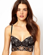 Calvin Klein Black Long Line Underwire Bra