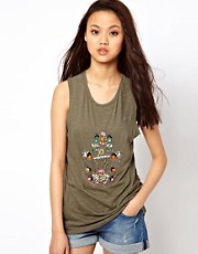 River Island Embellished Hand Tank Top