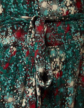 Image 3 ofGanni Jumpsuit in Floral Print