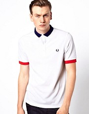 Fred Perry Polo with Small Contrast Collar