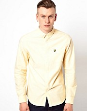 Camisa Oxford con logo de guila de Lyle & Scott Vintage
