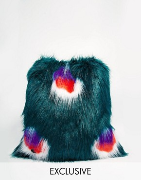 Story of Lola Faux Fur Backpack