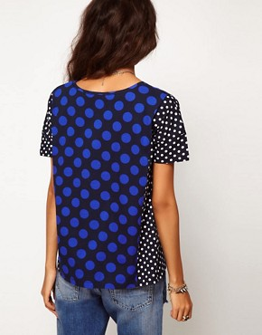 Image 2 ofASOS T-Shirt with Big and Small Spots