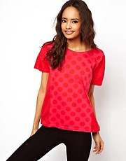 ASOS T-Shirt with Big and Small Spots