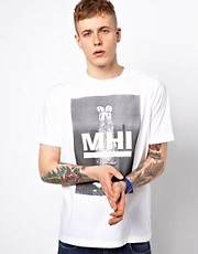 MHI By Maharishi T-Shirt Headstand Logo