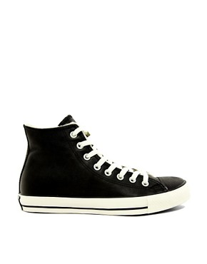 Image 4 ofConverse All Star Shearling Lined Hi-Top Trainers